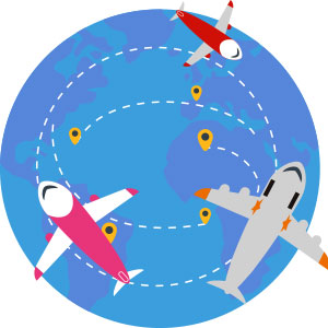 海外旅行 イメージ