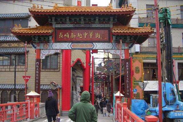 長崎中華街 入口