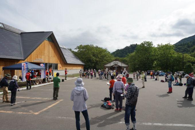 糠平湖 ウォーキング大会