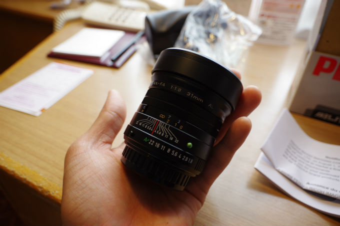 PENTAX FA31mm f1.8 Limited