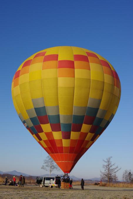 熱気球 大きさ