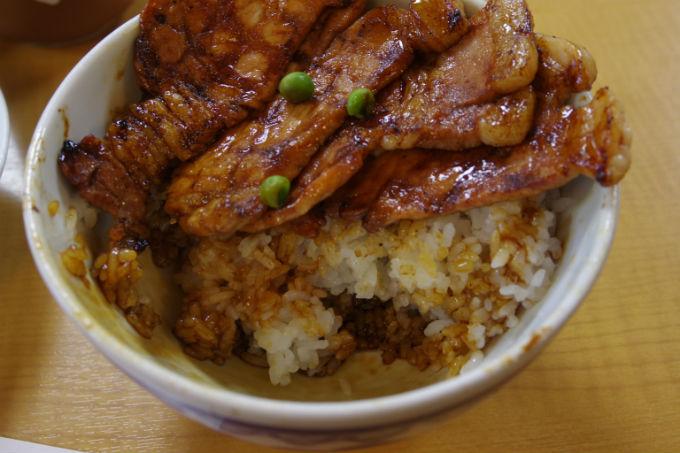 ぱんちょう 豚丼 ご飯