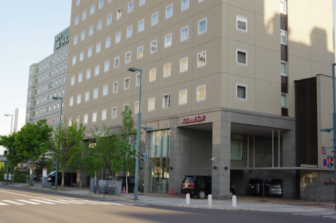 リッチモンドホテル 帯広 外観