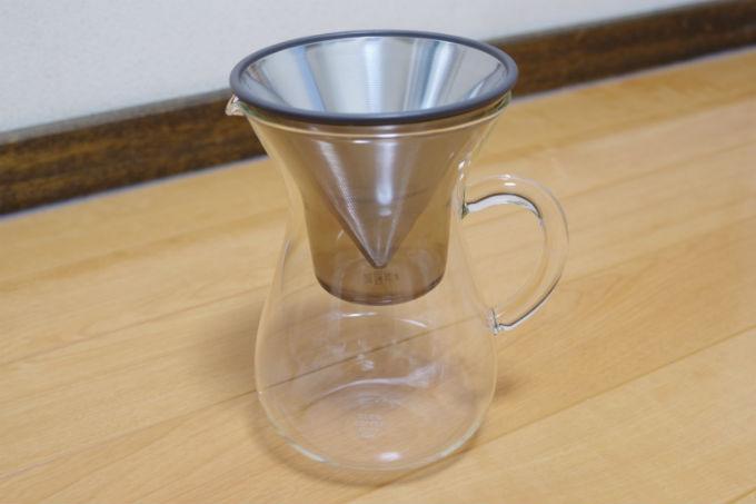KINTO コーヒーカラフェセット 600ml(SCS-04-CC)