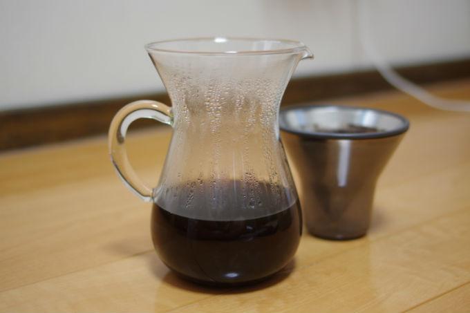 コーヒーカラフェ 実演