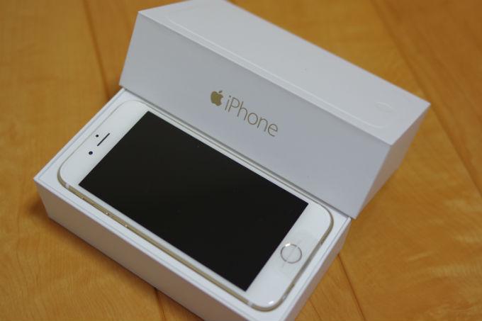 iPhone6 docomo 白ロム