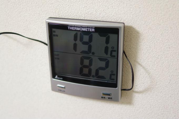 8月下旬 最低気温