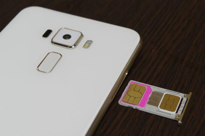 Zenfone3 デュアルSIM