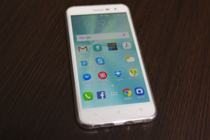 Zenfone3 サイズ