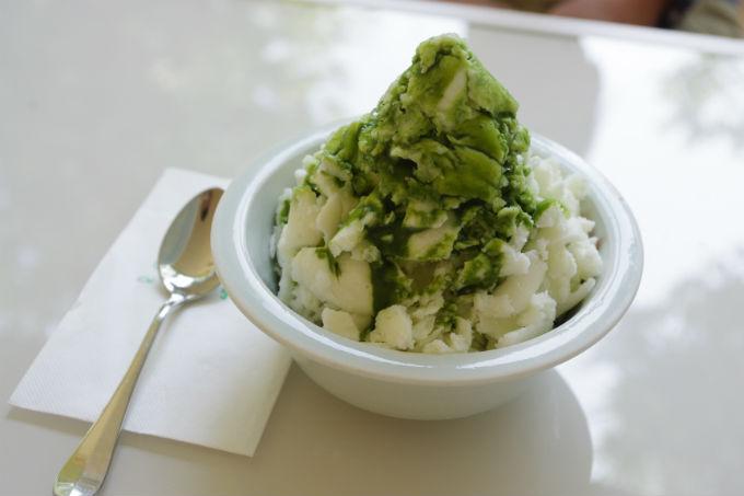 六花氷(抹茶)