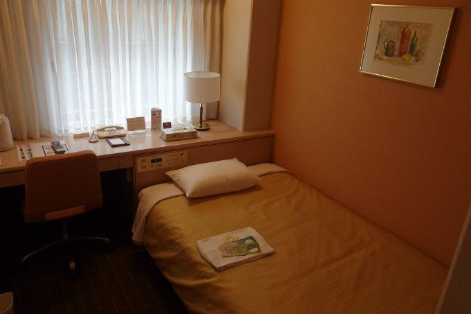 新阪急ホテル シングルルーム