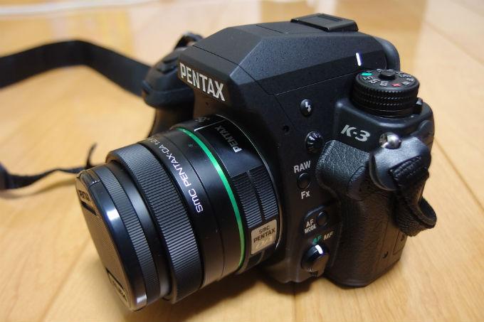 PENTAX K-3 全体