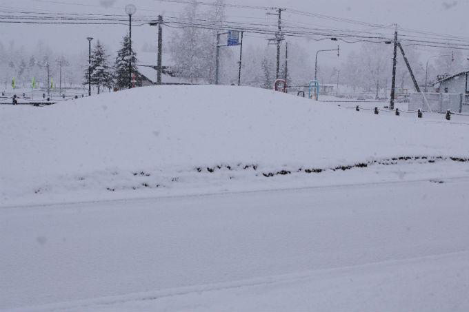 2013年5月6日積雪