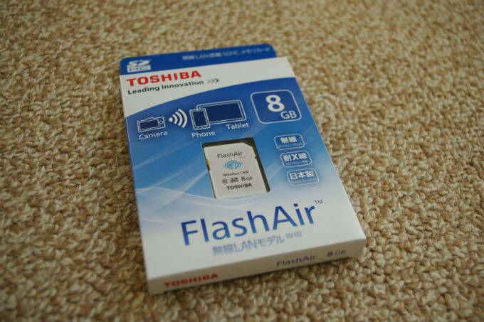 FlashAir 8GB