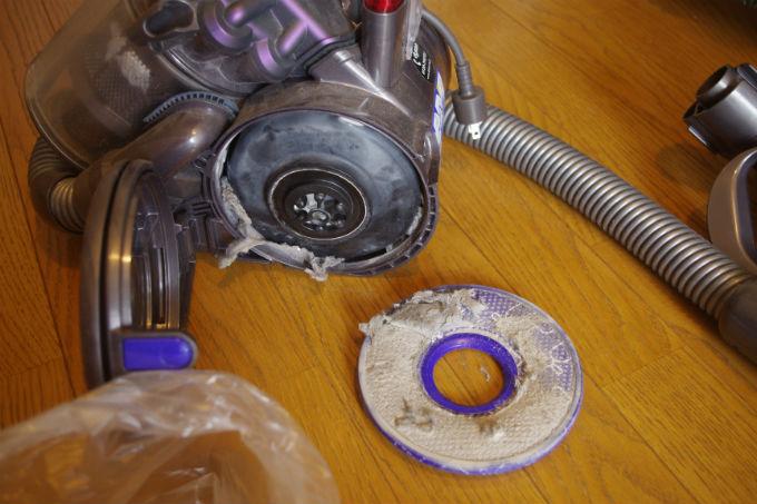 DC26 フィルター掃除
