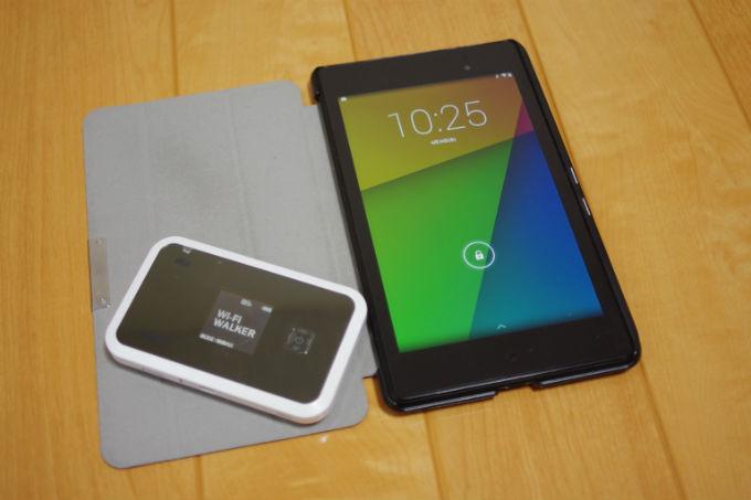 WiAMXルーター+Nexus7