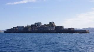 軍艦島 遠景