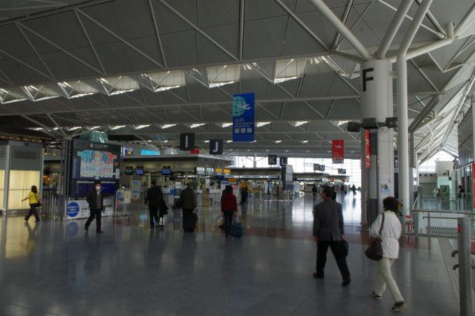 中部国際空港 出発ロビー