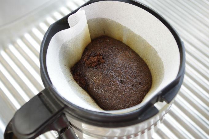 コーヒー 蒸らし
