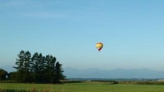 北海道 熱気球 夏