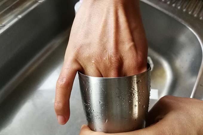 サーモス タンブラー 洗う時